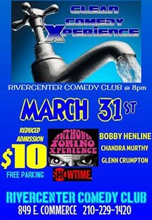 Clean Comedy Xperience at Rivercent Comedy Club