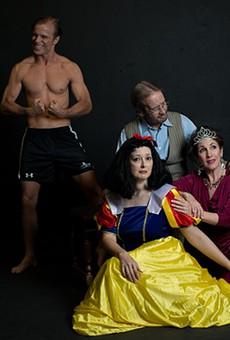 Clockwise from top: co-stars John Stillwaggon, John O'Neill, Anna Gangai and Emily Spicer.