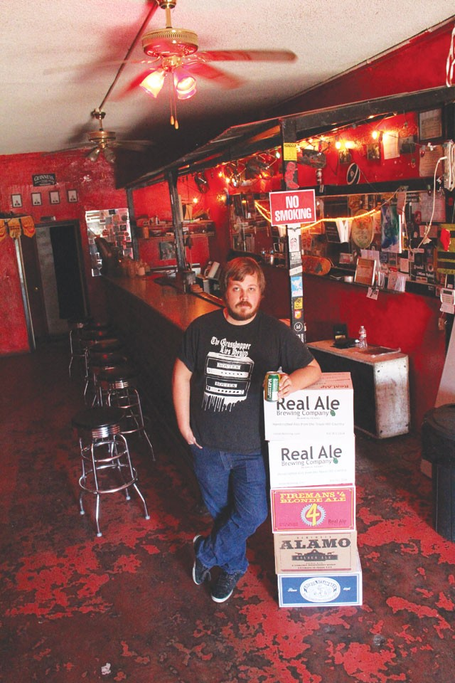 Colin Wells, co-owner of the Ten Eleven and host of its monthly Brewery Tours. - CHUCK KERR