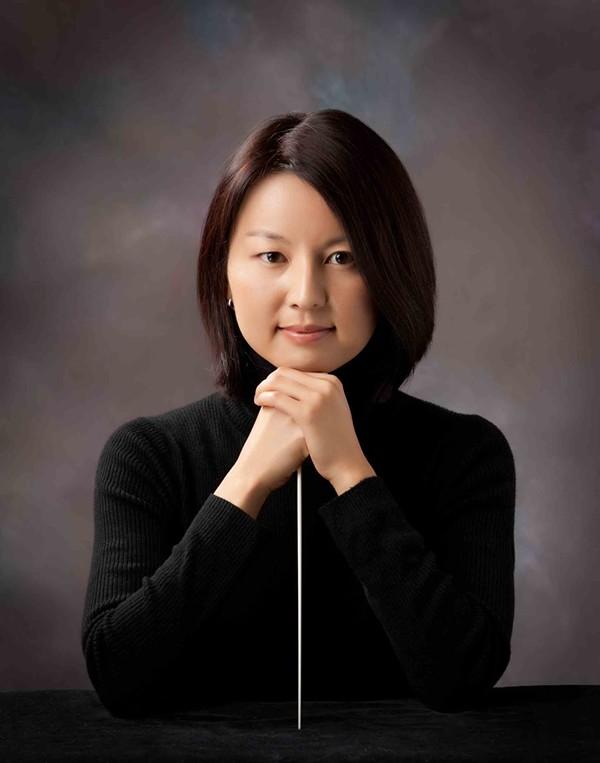 Conductor Akiko Fujimoto - COURTESY
