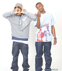 Cousins Raka Rich and Raka Dun are Panama's bilingual hip-hop/reggae duo Los Rakas.
