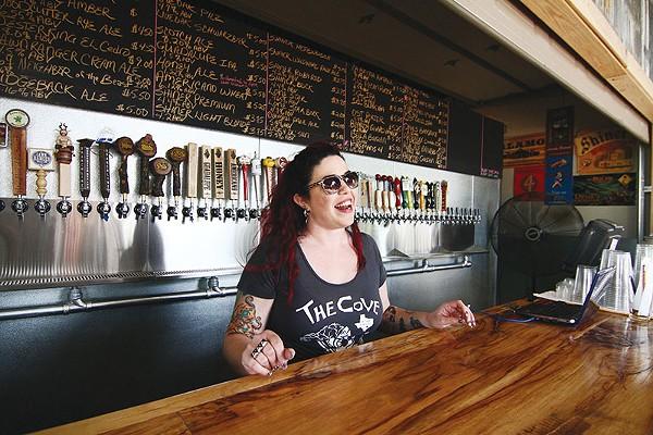 Cover bartender Annele Spector - COURTESY