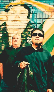 COURTESY PHOTO - David Hidalgo and César Rosas (of Los Lobos),