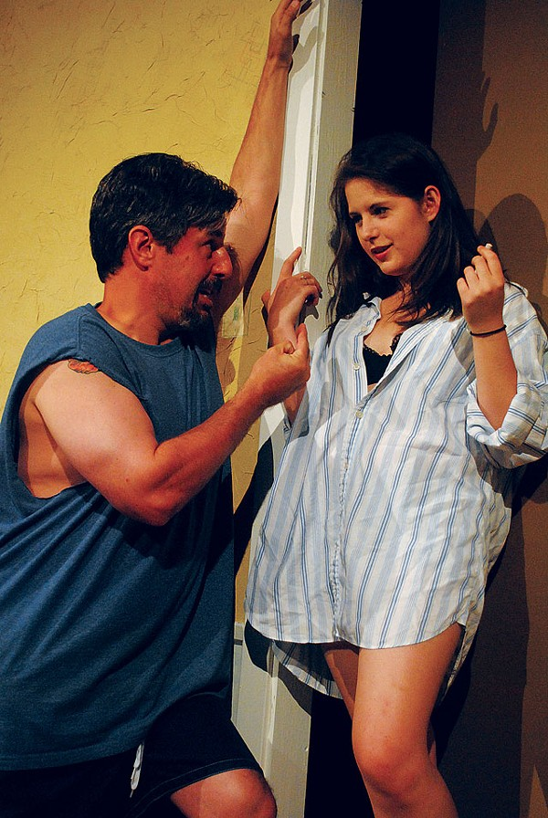 David Maloof   and Krystal Kohler in August: Osage County. - COURTESY PHOTO