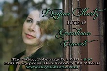 Dayna Kurtz kicks off the Greenhouse Concert series 2015