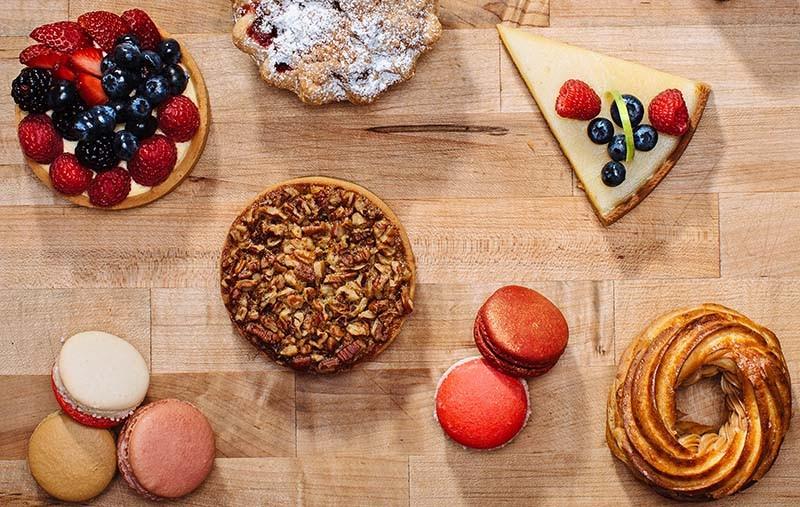 Decadent desserts from Bakery Lorraine - JOSH HUSKIN