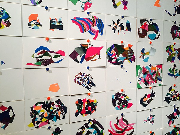 Detail of Yuko Fukuzumi's Just Me Love Me from 'Spatial Planes' - BRYAN RINDFUSS