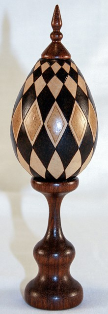 BILL DECKER - Diamond Egg by Bill Decker