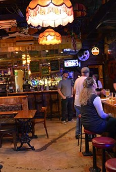 Dive bar or ski lodge? We can't tell.