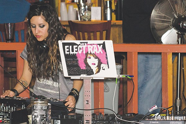 DJ Mighty Iris, probably scouring The Lost Boys' soundtrack - ROBERT ARECHE III