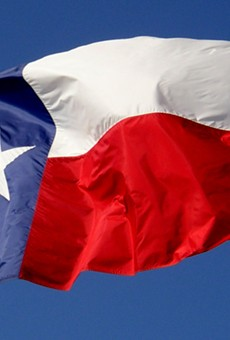 Although it was introduced in 1800's, the Texas flag wasn't officially adopted as the state flag until the passage of the 1933 Texas Flag Code.