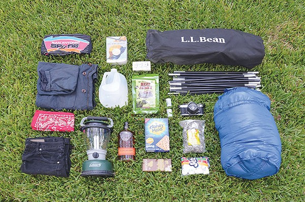 Don't forget your Spurs paraphernalia when gearing up for a Big Bend camping trip - ELI MILLER