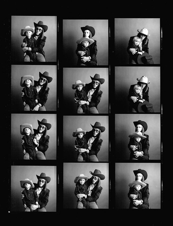 Doug Sahm and son Shawn in a 1968 cover shoot for Rolling Stone. - COURTESY PHOTO