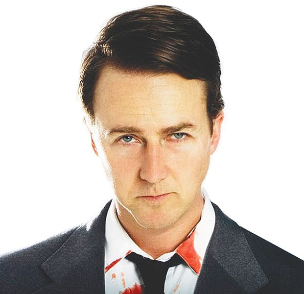 Edward Norton in Leaves of Grass