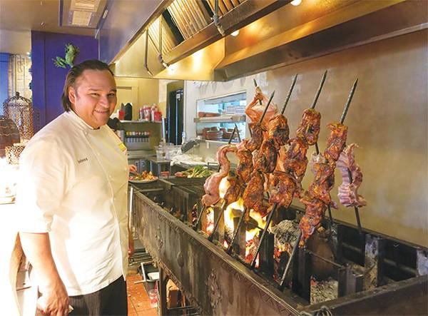 El Rey del Carbon shares some beef tips - MIRIAM SITZ