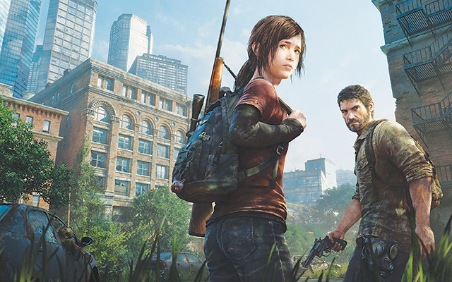 """Ellie and Joel fighting the fungus-infected creatures that """"are not zombies,"""" according to the game's creators. - COURTESY PHOTO"""