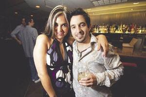 Erika Bomo and Luis Reginaldo Garcia-Perez strike a pose at The Gatsby.