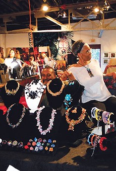 Esperanza Center's Peace Market features handmade gifts and craft dedicated to paz.