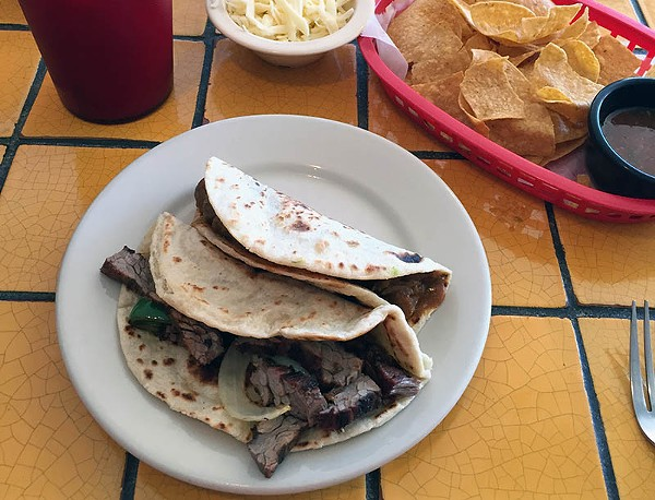 Fajita Taco Place: Straight to the point. - TAYLOR ALLEN