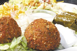 "Falafel so good it gets two paragraphs and descriptions such as ""ideal"" and ""perfectly fried."""