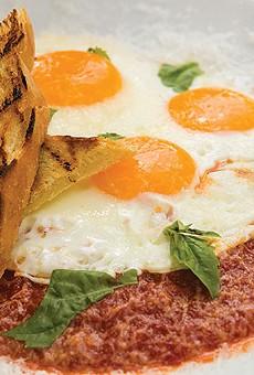 Feast's eggs in hell