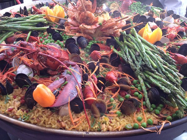 The Corona Paella Chellenge is March 15. - COURTESY