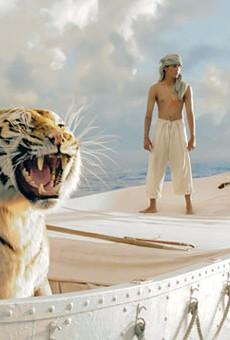 Floating tiger, standing Pi