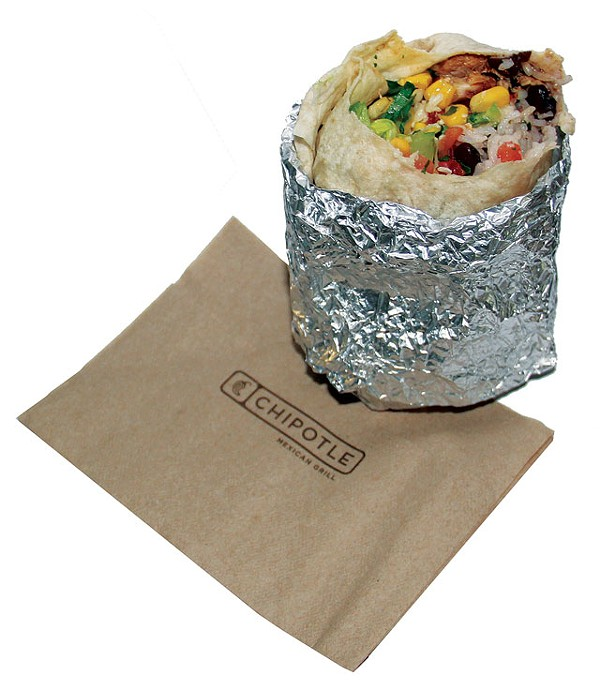 Foiled again: Chipotle's chicken burrito - CHUCK KERR