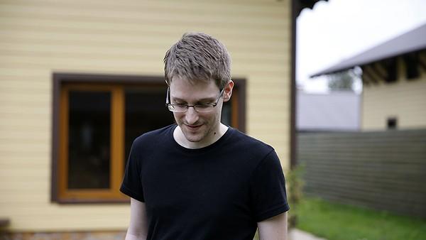 Former NSA contractor Edward Snowden - RADIUS/TWC