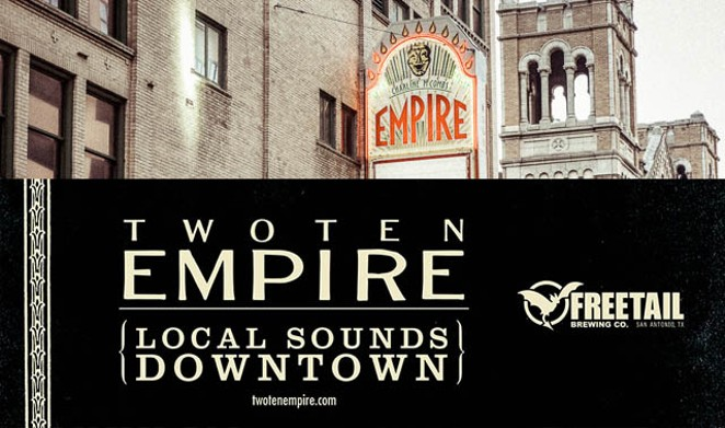The Lost Project kicks off a joint concert series between Freetail Brewing Co. and The Empire Theatre. - COURTESY