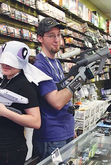 Game Over's Tina Pesterfield and James Galey know their peripherals.