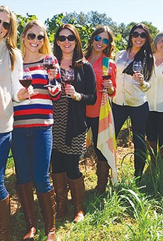 Gather up the girls and head to wine country