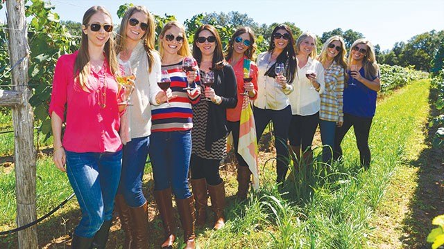 Gather up the girls and head to wine country - MIGUEL LECUONA, COURTESY OF WINE ROAD 290