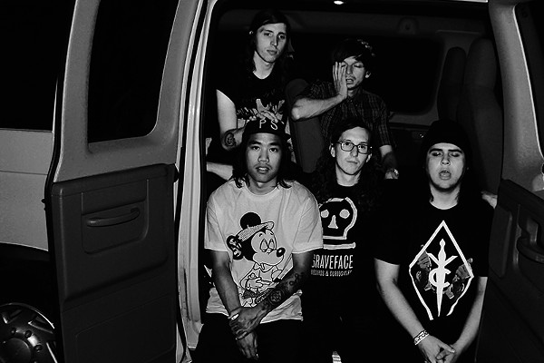 Get in the van! Punk nihilists Whirr are only in it for the heavy music. - COURTESY