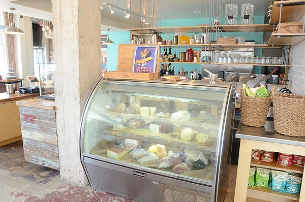 Get ready for an Italian gelato fix in Southtown. - BRYAN RINDFUSS