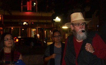 JR of Alamo City Ghost Tours. Photo by Misty Blaze. - MISTY BLAZE