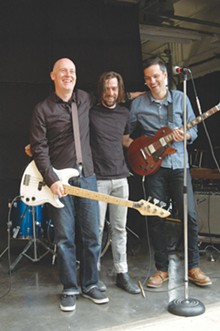 Graham Fagan (bass), Chad Dawkins (drums), Frank Benson (guitar).