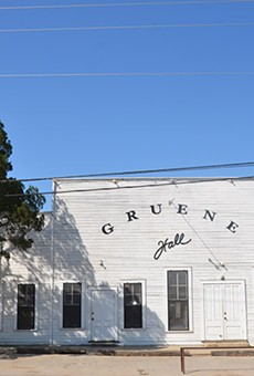 Gruene Hall, host to many country greats, celebrates 40 years as a concert hall.  It actually opened in 1878 as a community center.