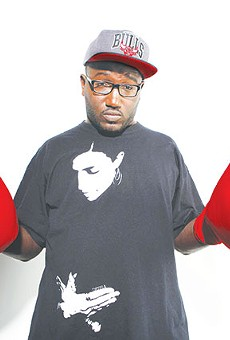 Hannibal Buress is clawing his way to the top