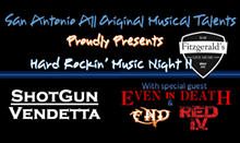 Hard Rockin' Music Night II
