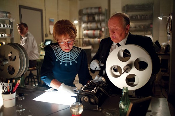 Helen Mirren and Anthony Hopkins as Team Hitchcock - COURTESY PHOTO