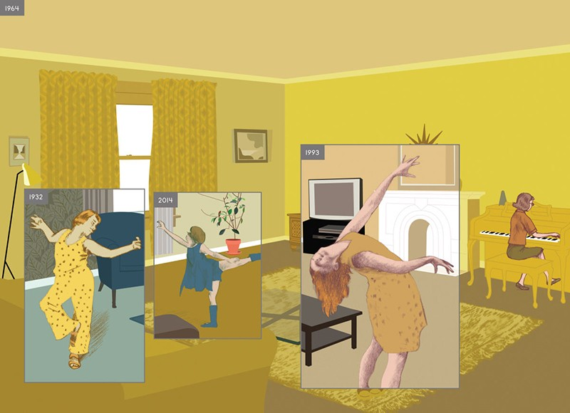 'Here' by Richard McGuire - COURTESY