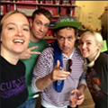 Hey, Buuudddies: Pauly Shore Hit Up One Lucky Duck