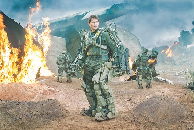 """Hey, didn't I see that slithering alien yesterday?"" 'Groundhog Day' meets 'Independence Day' in 'Edge of Tomorrow' - COURTESY PHOTO"