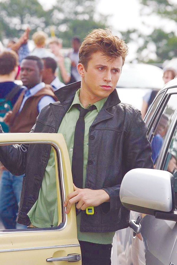 Hold the Bacon: Kenny Wormald outdances Kevin in the new Footloose..
