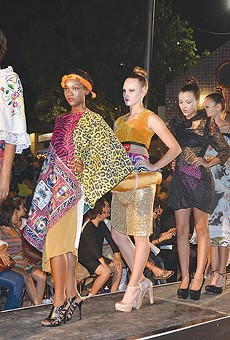 Hot wild in the city: 2012's Runway en la Calle models strut their stuff