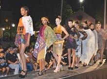 BRYAN RINDFUSS - Hot wild in the city: 2012's Runway en la Calle models strut their stuff