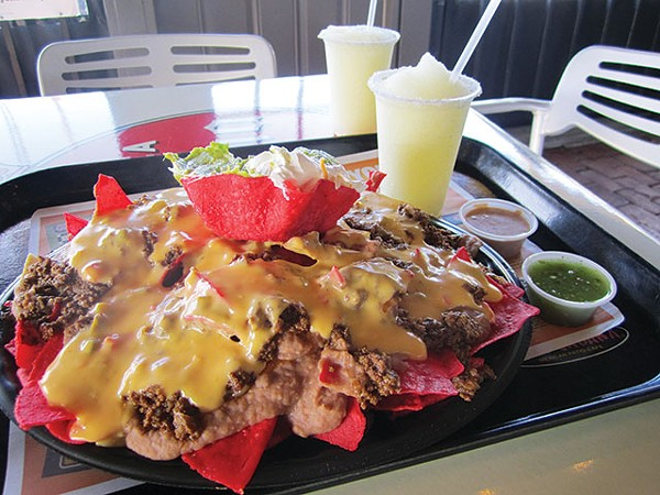 I tried climbing this nacho mountain, and failed. - JESSICA ELIZARRARAS