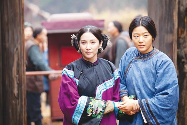 Inseparable — Bingbing Li and Gianna Jun in Snow Flower and the Secret Fan. - COURTESY PHOTO