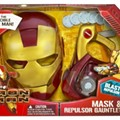 Iron Man Mask and Gauntlet